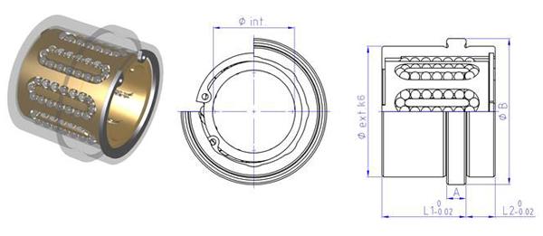 Boccole a ricircolo di sfere